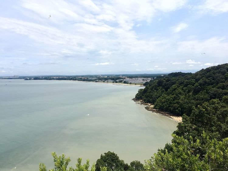When you decide to finally go hiking! Worthit Sea Sky Tranquil Scene Beauty In Nature Outdoors Horizon Over Water Getty Images EyeEm Best Shots Check This Out Hiking Hikingadventures TanjungTuan Malaysia Tourism ASIA