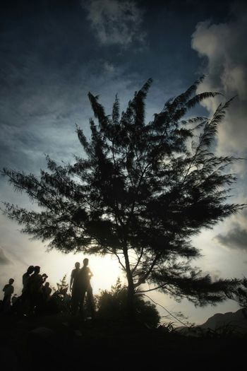 Silhouette Manganti People Landscape_photography Landscape Sky Clouds Light EyeEm Indonesia Canon