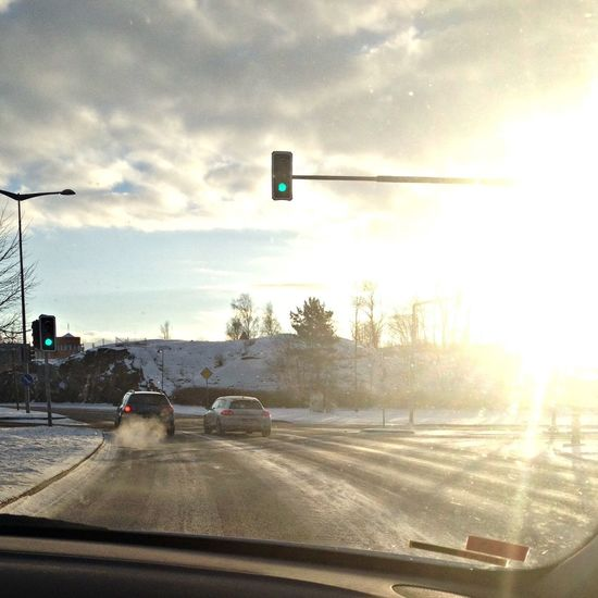 Sunshine Finally to the Cold Winter ❄⛄ Cruising