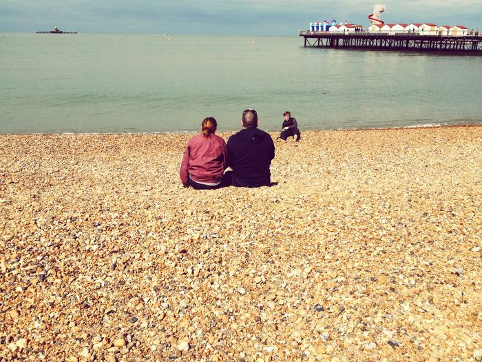 HerneBay Sunshine Being A Beach Bum Sea Family First Eyeem Photo