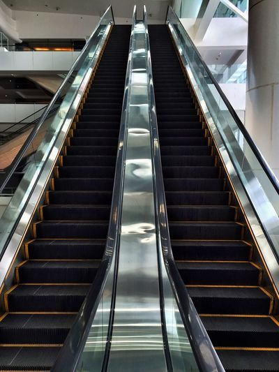 Menuju Stairs Escalator Shopping Mall Steps Interior Tangga Jakarta
