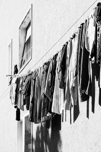 And it's another day of sun! Architecture Balcony Building Exterior Built Structure Chores Cloth Clothes Clothesline Clothespin Clothing Day Domestic Life Drying Hanging Hygiene Laundry Lingerie Nikonphotography No People Outdoors Underwear VSCO Vscofilm Washing Window