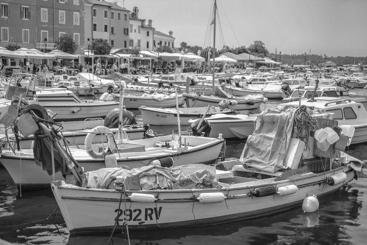 Bnw_friday_eyeemchallenge Bnw_harbor Gry Au Long Cours Moored Marina