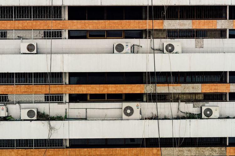 Old building & air condition..... By leica m9-p & leica 50 noctilux No People Building Photography Old Building Detail City City Street Leicacamera Thailand Bangkok Street Photography Outdoors Day LeicaM9 High Angle View Street Eyeemphoto