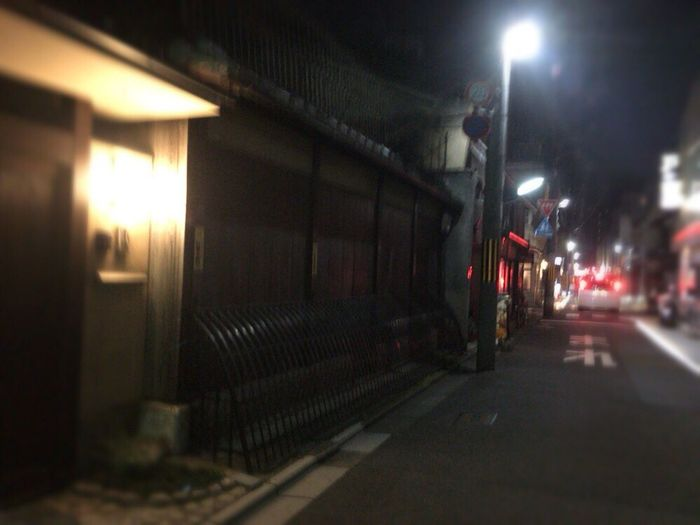 Kyoto Night Street Kyoto,japan Kyoto Tradisional Street Kyoto Matiya Kyoto Night Kyoto Japan Kyoto Noir Nuitt