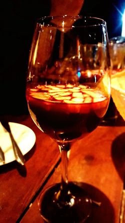 Wineglass Drink Indoors  Freshness Food And Drink Refreshment Close-up Lifestyles Night