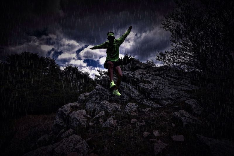 Sports Photography Trail Running Raining Sports People And Places