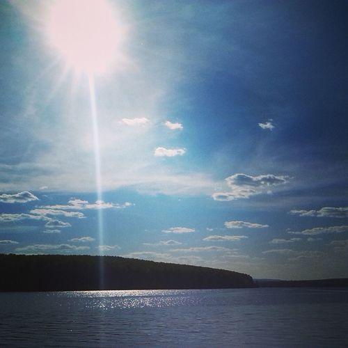 Природа красиво солнце пруд #вода