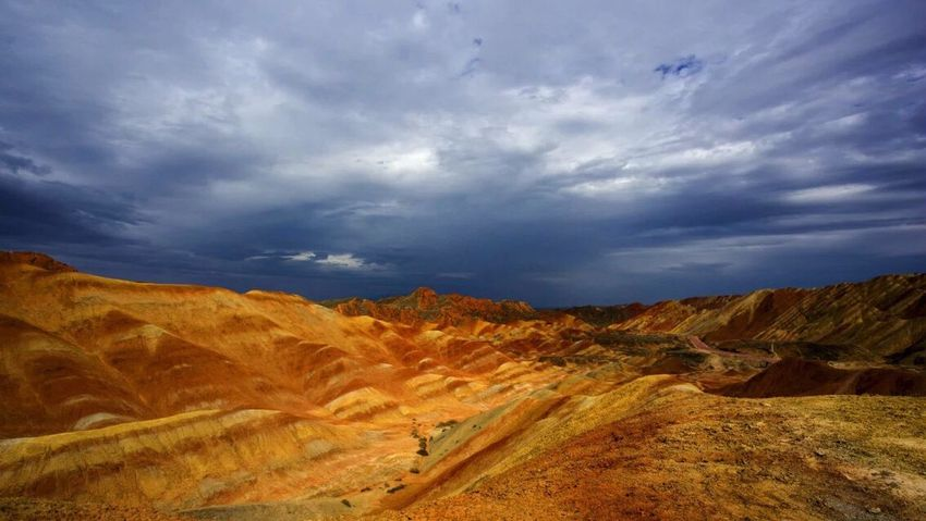 The Journey Is The Destination Danxia Geological Park