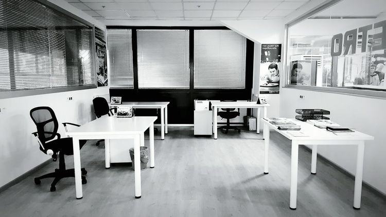 Empty Indoors  No People Day Hospital Hello World Taking Photos Architecture White Blackandwhite Black And White Office Office View Work At Work Indoors  Indoor Photography