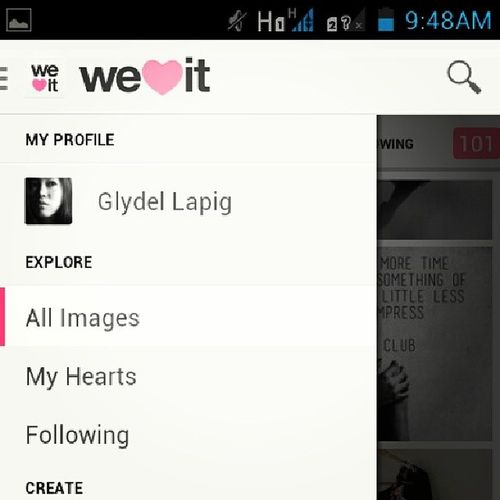 Weheartit!!! My number1 girly site.. all girls should try it.. Justgirlthing Girltime  Girls Oneofthosegirls