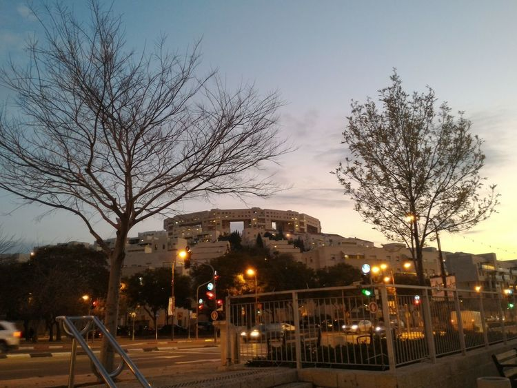Modiin, Israel at Sunset. Amazing View Architecture