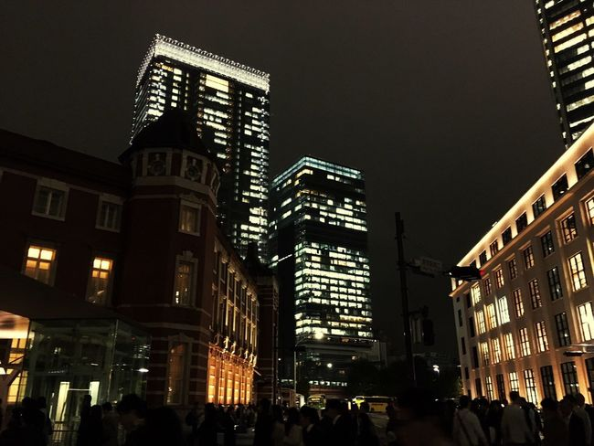 Tokyostation Taking Photos Nightphotography Night Lights