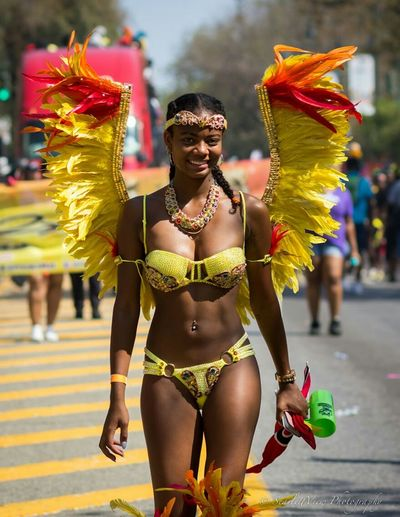 The Labor Day Carnival Parade was filled with great music, food and of course...beautiful women!! Labordaycarnival2015 Carnival Easternparkway Color Costumes Feathers Westindian Caribbean Brooklyn
