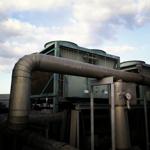 Metal Industry Factory Pipe - Tube Business Finance And Industry Sky Architecture Built Structure