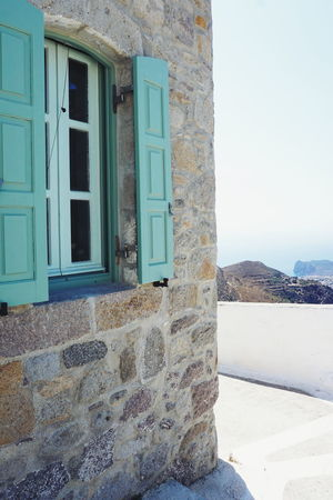 Greek Stone house and view Greek Islands Green Green Color Houses Nikia View Architecture Building Exterior Built Structure Day Door Greece House Houses And Windows Nature Nisyros No People Outdoors Stone House Stonehouse Traditional Window Windows