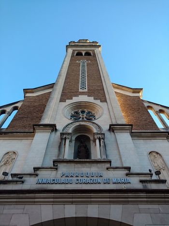 Architecture Clear Sky Tower Façade Building Exterior Low Angle View Built Structure Church Churchtower First Eyeem Photo