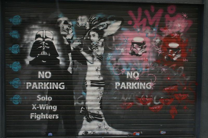 Art ArtWork Dark Side Darth Vader Darthvader Graffiti Graffiti Wall Graffitiart Graffitiporn No Parking No Parking Area No Parking Sign No Parking Signs Noparking Star Wars Starwars Street Art Street Artist Street Photography Streetart/graffiti Streetphotography X-wing Xwing Xwingfighter Xwingpilots