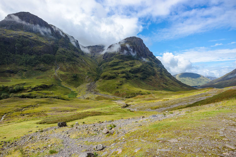 Glencoe Hiking Scotland Beauty In Nature Highlands Of Scotland Landscape Mountain Mountain Range Nature Outdoors Scenics Sky Wilderness