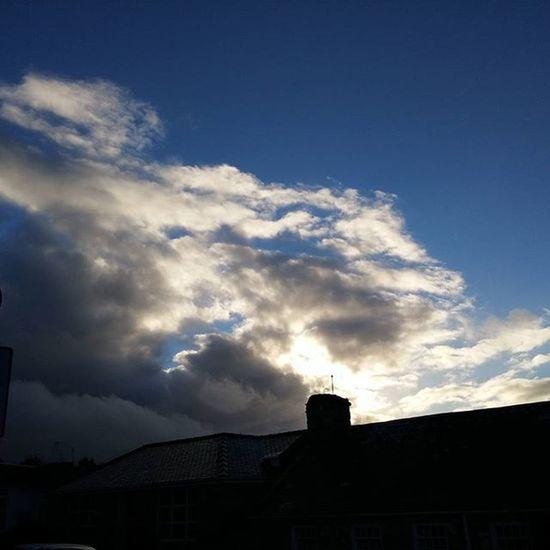 Crazy November sky