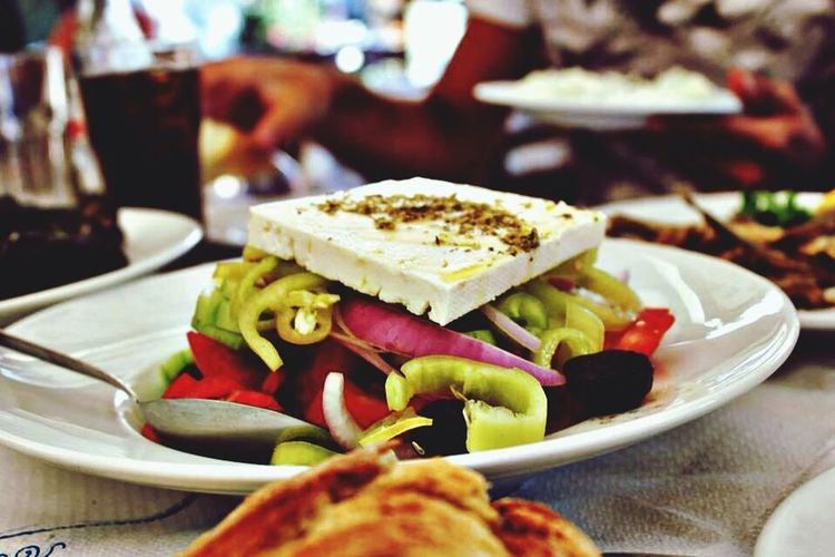Who does not know the famous greek salad??? <3 big love Greek Salad Foodporn Enjoying Life Vacation