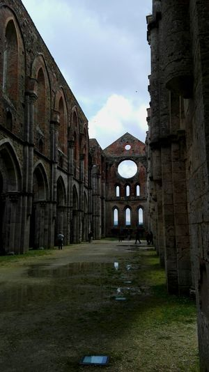 Old Ruin Artphotography Discoveritaly Magical Places Scenics Abbey Photooftheday Travel Destinations Magical Place Tuscanygram Ruins The Past Legendary History Pictureoftheday Famous Place Tourism Tuscany Discovertuscany Best Of EyeEm Abbey Ruins Sangalgano Architecture Solitude Medieval