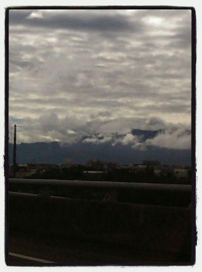 Beautiful Clouds Taiwan Mountains