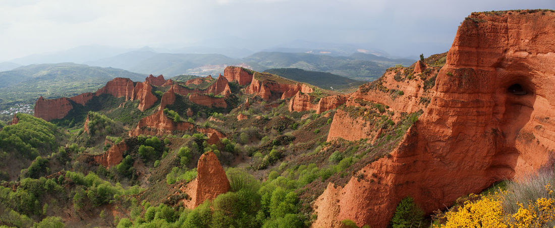Las Médulas Ancient Beauty In Nature Canyon Day Excavation Geology GoldMine Goldmining Landscape Mine Mountain Nature No People Outdoors Rock - Object Roman Tourism Travel Travel Destinations