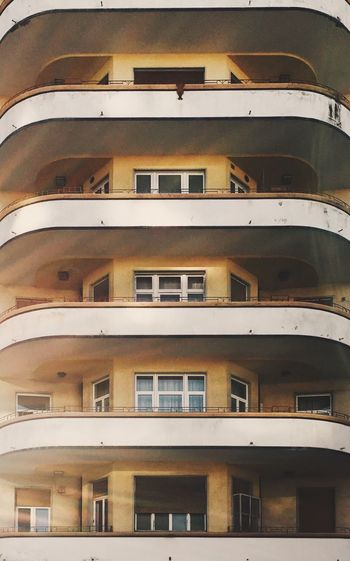 Window Architecture Building Exterior Balcony Residential Building No People Apartment House Built Structure Full Frame Low Angle View City Day Outdoors Close-up Fascistarchitecture Razionalismo Photo Fascism EyeEmNewHere Secondorinascimento Utopia Ventennio Rationalism Rationalist Architecture