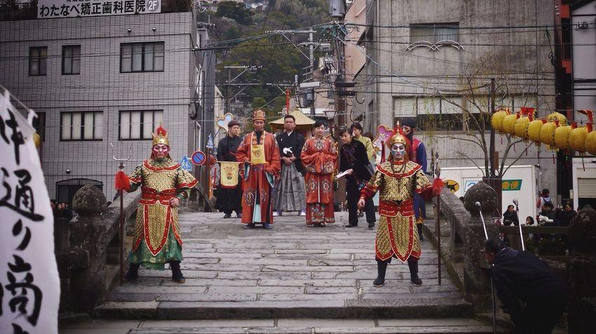 "Walking Around ""Nagasaki Lantern festival"" 14:41(Japan Standard Time) Megane bashi, Nagasaki-shi Today's Hot Look 16:9 Crop LUMIX GX1 50mm prime Lens Fresh1 filter plus Asian Culture Good evening"