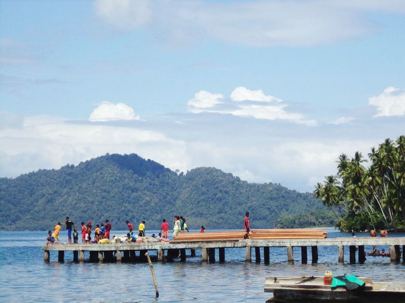 beach activity Indonesia_photography Cloud Indonesian Halmahera Halmahera Selatan Daily Life Pesona Indonesia Cultural Sky