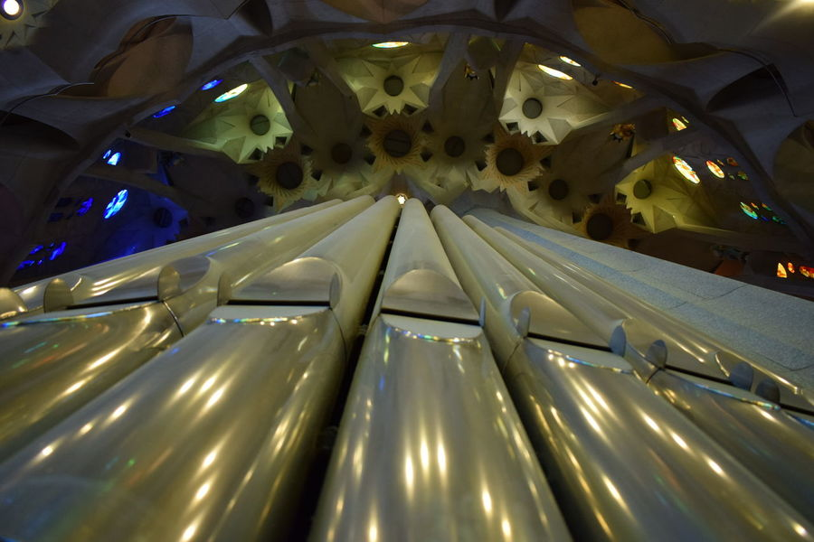 Gaudì Architecture Work Light Music Perspective Church Architecture Organ Sagradafamiliabarcelona