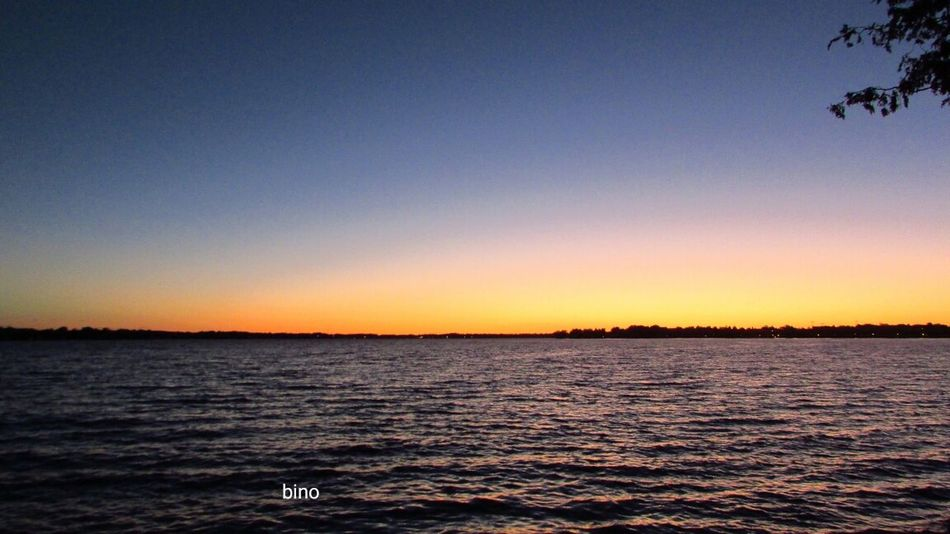 Late Evening Sky Around The Lake Windy Night Cooling Down Ripples In The Water Tranquility Lake Cadillac Pure Michigan