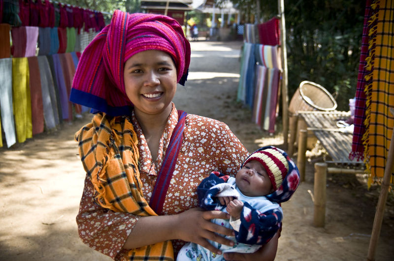 Adult Adults Only Baby Burma Check This Out Cheerful Cultures Day Happiness Happy Human Body Part Looking At Camera Market Mum Myanmar One Person Outdoors People Portrait Smiling Snap a Stranger Women Young Adult The Portraitist - 2017 EyeEm Awards