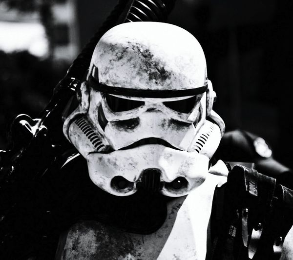 Today's Hot Look Beauty EyeEm Black And White Starwars