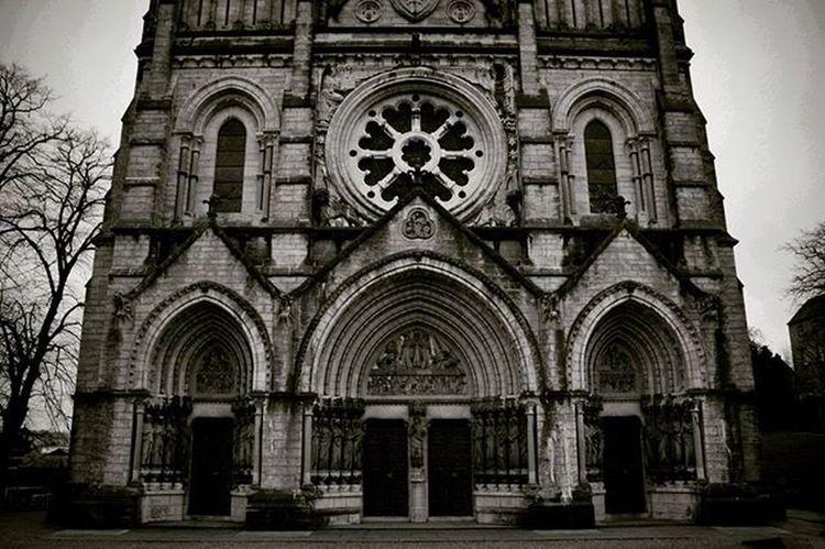 St Finbarrs cathedral,Cork Itscorklike Hellocork_ Gothic Cathedral Stfinbarrscathedral Cork Ireland Insta_ireland Instabw Blackandwhite Blackandwhitephotography Monochrome Bnw Bnw_life Bnw_captures Bnw_society