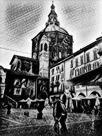 Architecture Religion Person City Life Old Town City Church People And Places Battle Of The Cities Pavia City City Life City Street