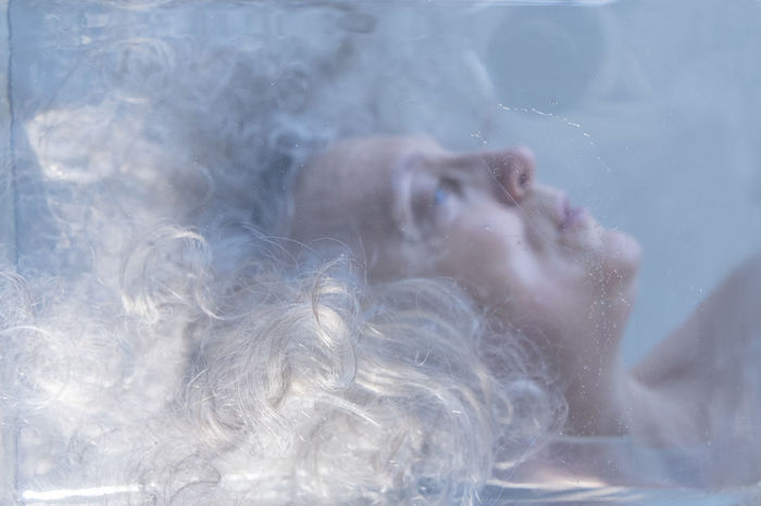 frozen Hair Frozen Person Calm Sleeping Self Portrait Break The Mold Close-up Myself Selfportrait Sleeping Person The Secret Spaces TCPM