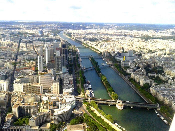 Paris visto do