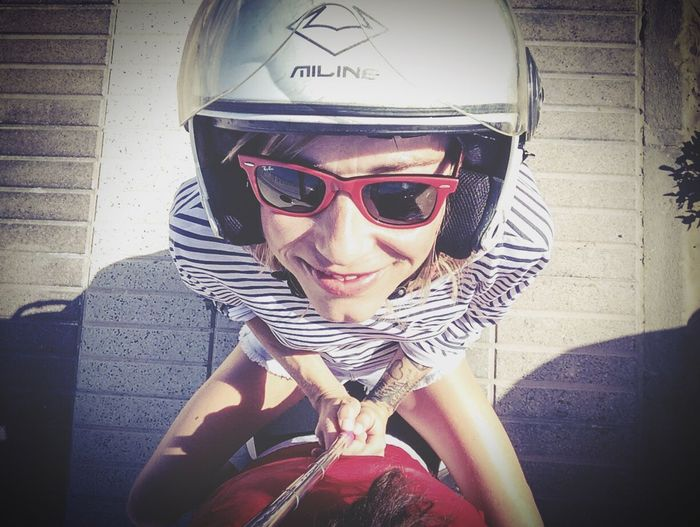 Supermouse Taking Photos Having Fun Driving Ontheroad Smile Vespa Snapshots Of Life My Hobby JustMe