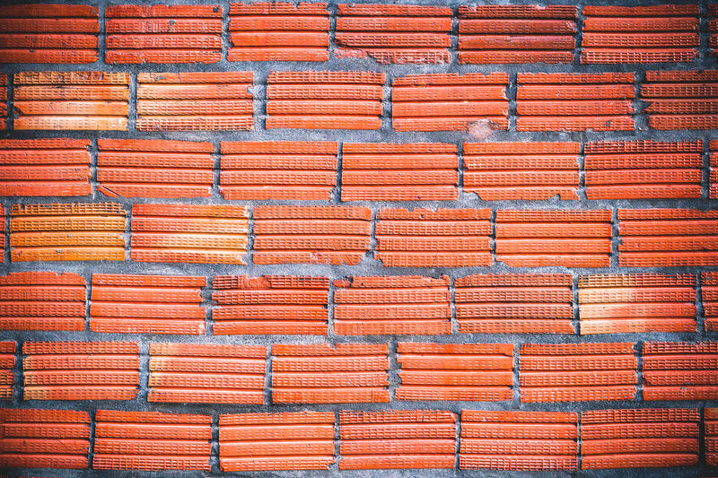 orange brick wall with gray concrete lines, pattern for background Architecture Backdrop Background Brick Bricks Brickwork  Cement Concrete Construction Design Detail Dirty Exterior Gray Grunge LINE Material Old Orange Outdoor Pattern Rough Stone Structure Surface Texture Wall Weathered Full Frame Repetition