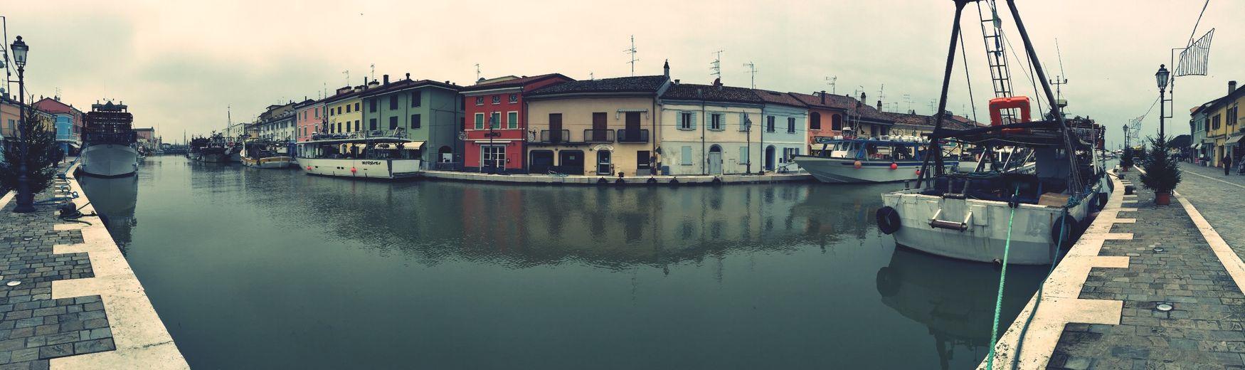 Porto canale Cesenatico