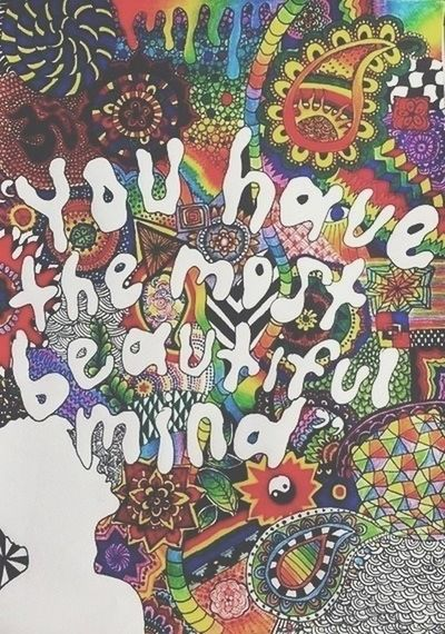 Psychedelic trippy beautiful