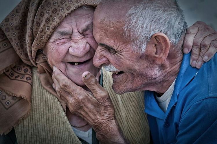 They're happy because they have each other... Portrait Color Portrait Happy Faces Long Love Old Couple Never Ending Story Smiley Faces People Photography Around The World
