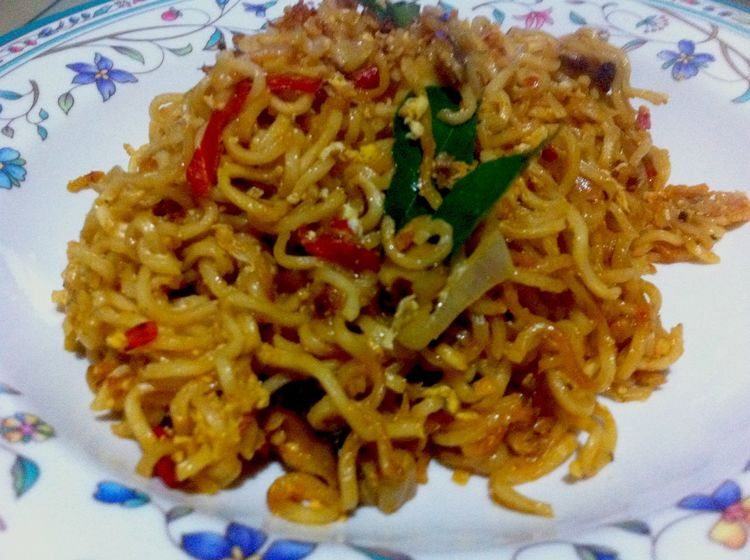 Supper In My Mouf Instant Noodles Spicy DIY Maggie