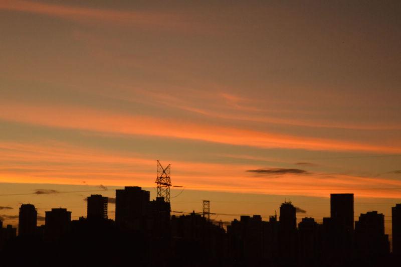 Pôr do sol urbano First Eyeem Photo