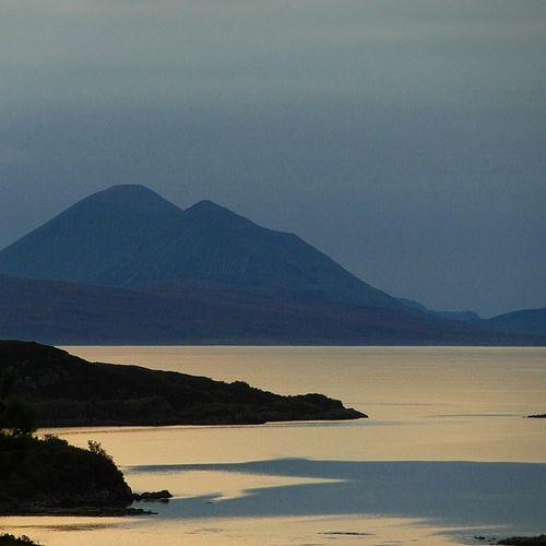 View from Plockton westwards to the Isle of Skye WestCoast Scottish Highlands Loch Carron Plockton The Great Outdoors Scotland
