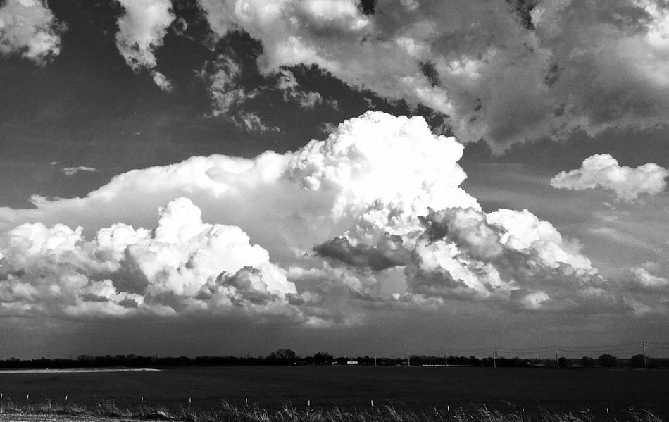 Cloud - Sky Sky Landscape Nature Rural Scene Tranquil Scene Field Scenics Outdoors No People Day Beauty In Nature Storm Cloud Storm Clouds Storm