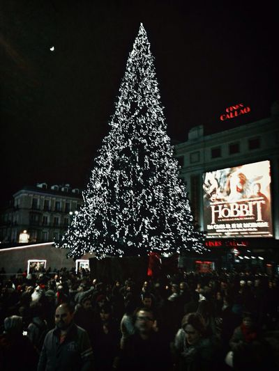 luces de Navidad....
