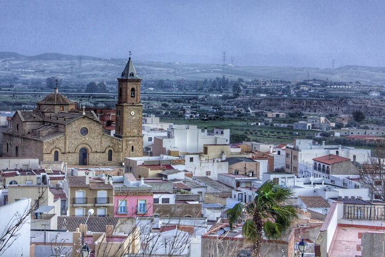 Town Small Town Church Colors Architecture Turre